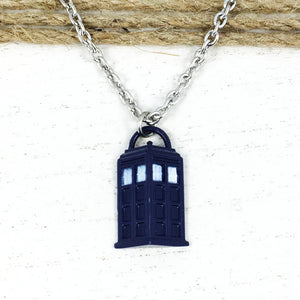 Collier | Doctor Who | TARDIS semi-3D