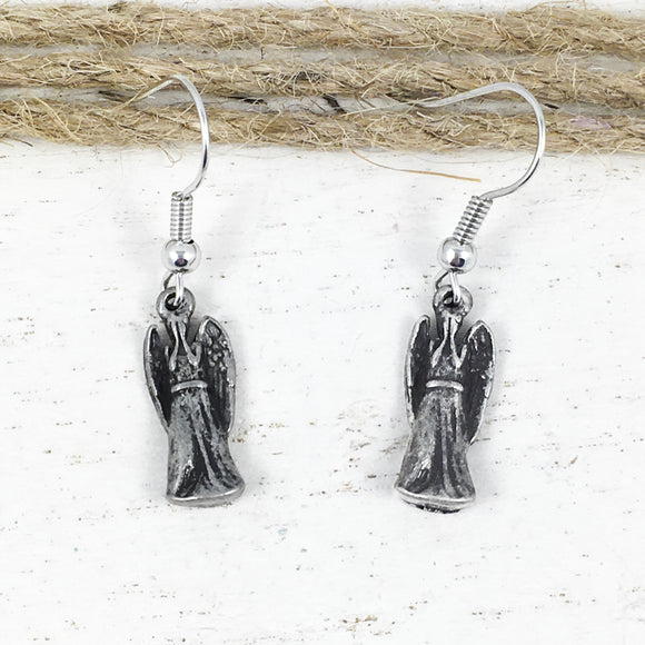 Boucles d'oreilles pendantes | Doctor Who | Weeping Angel