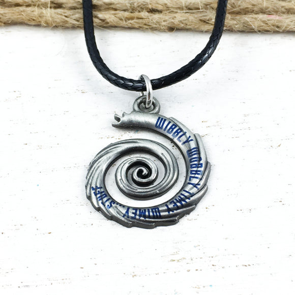 Collier | Doctor Who | « Wibbly Wobbly » (petit)
