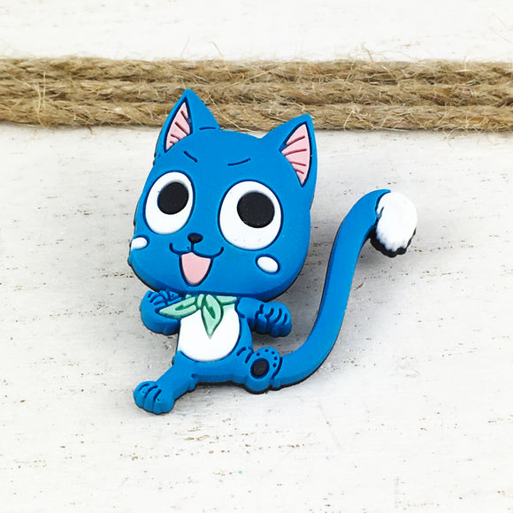 Soft Plastic Pin | Fairy Tail | Happy