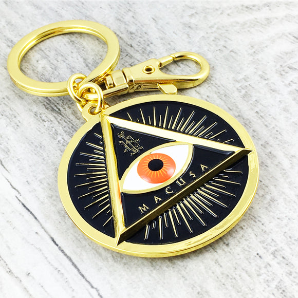 Metal Keychain | Fantastic Beasts | MACUSA Eye