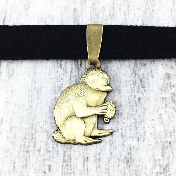 Choker Necklace | Fantastic Beasts | Bronze Niffler