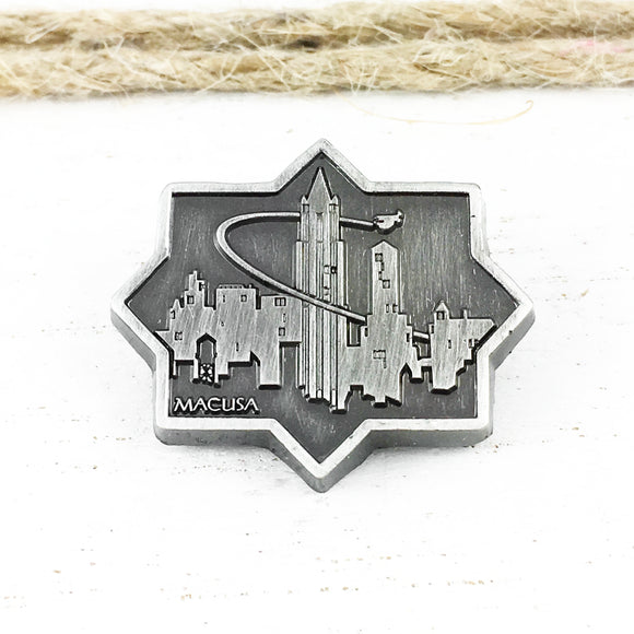 Pewter Pin | Fantastic Beasts | New York Cityscape