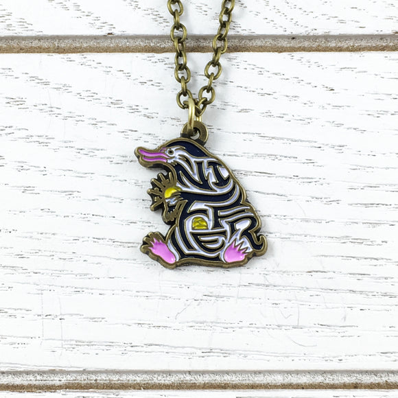 Necklace | Fantastic Beasts | Niffler (enamel)
