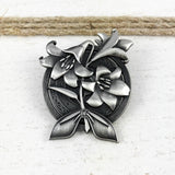 Pewter Pin | Final Fantasy | Aerith Gainsborough Icons