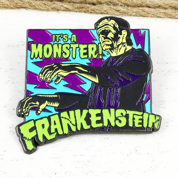 Glow-in-the-Dark Pin | Frankenstein's Monster