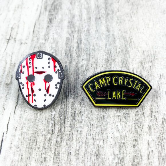 Enamel Pin Set | Friday the 13th
