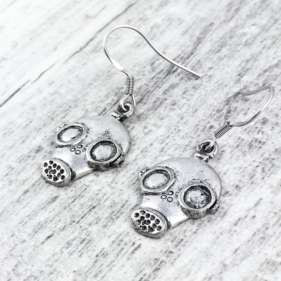 Earrings | Gas Mask