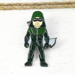 Épinglette en émail | DC | Green Arrow