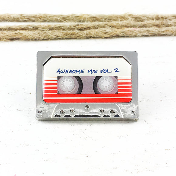 Enamel Pin | Guardians of the Galaxy | Awesome Mix Vol. 2