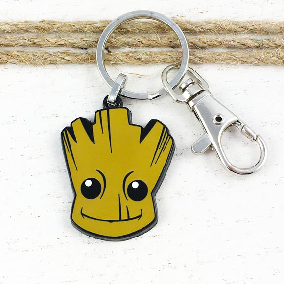 Enamel Keychain | Guardians of the Galaxy | Groot