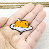 "Enamel Pin | Gudetama | ""Shell Stuck"""