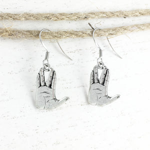Earrings | Vulcan Salute