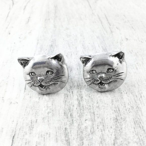 Cuff Links | Happy Cat
