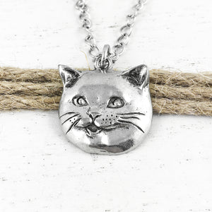 Collier | Chat heureux