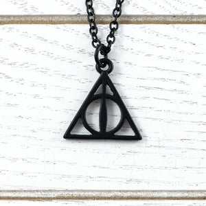 Necklace | Harry Potter | Deathly Hallows (black)