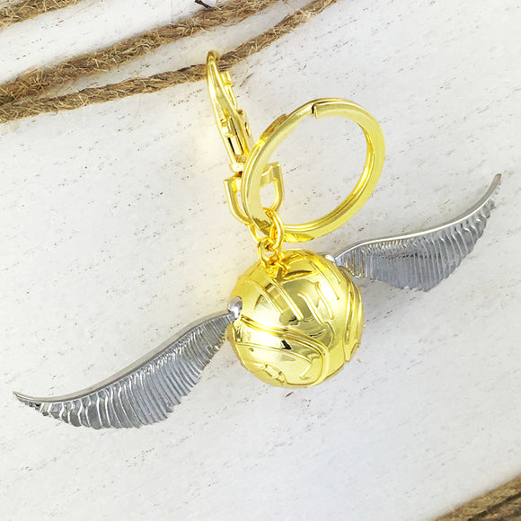 Metal Keychain | Harry Potter | Golden Snitch (3D)