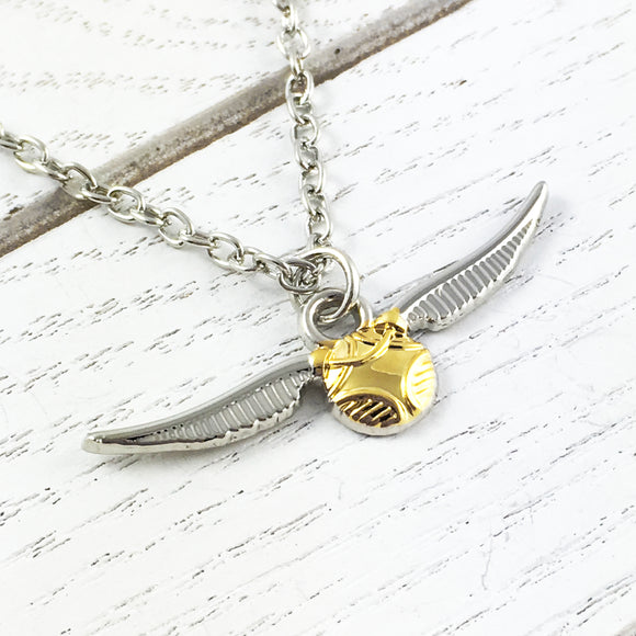 Necklace | Harry Potter | Golden Snitch