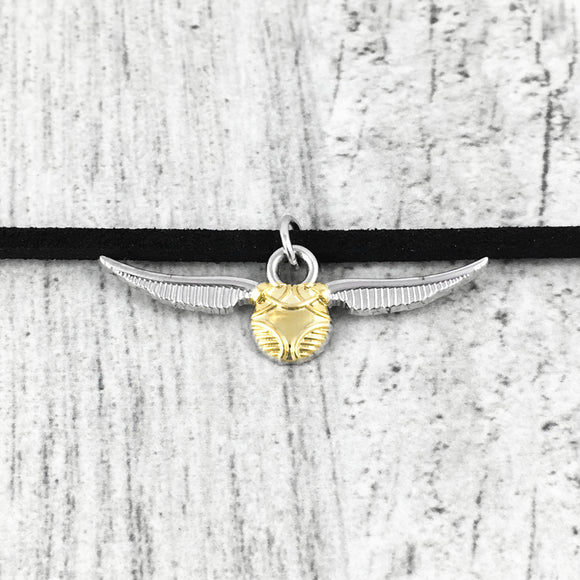 Choker Necklace | Harry Potter | Golden Snitch