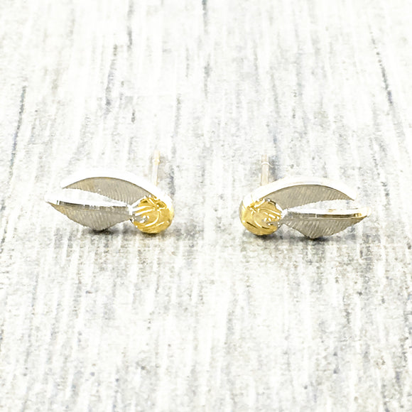 Stud Earrings | Golden Snitch