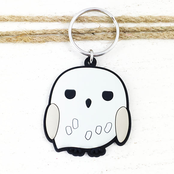 Soft Plastic Keychain | Harry Potter | Hedwig