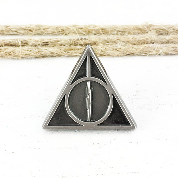 Pewter Pin | Harry Potter | Deathly Hallows