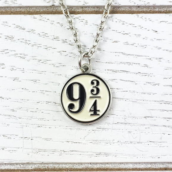 Necklace | Harry Potter | Platform 9-3/4 (enamel)