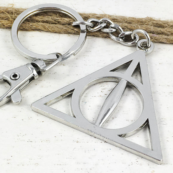 Metal Keychain | Harry Potter | Deathly Hallows