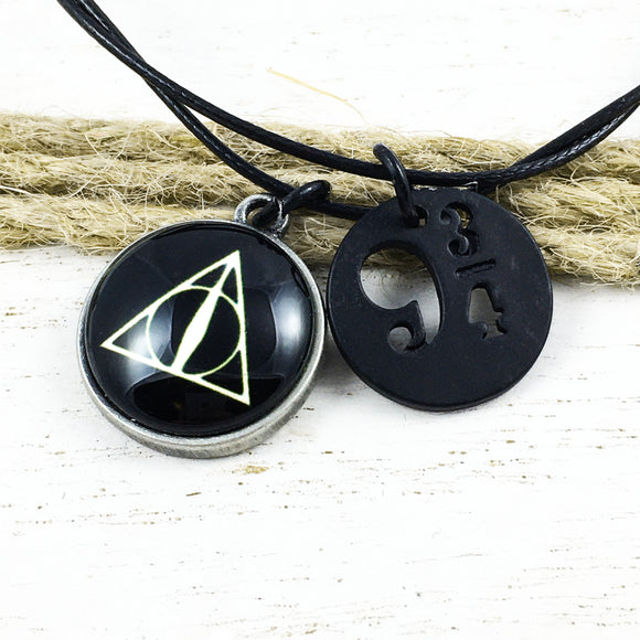 Bracelet or Anklet | Harry Potter | Deathly Hallows and Platform 9-3/4
