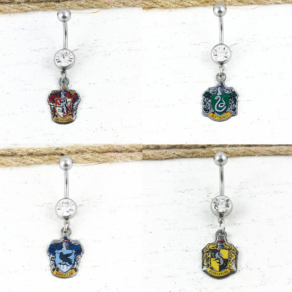 Belly Button Ring | Hogwarts Houses