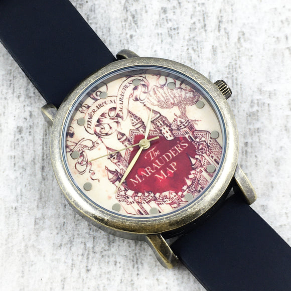 Montre | Harry Potter | Carte du maraudeur