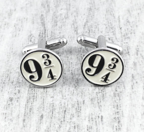 Cuff Links | Harry Potter | Platform 9-3/4