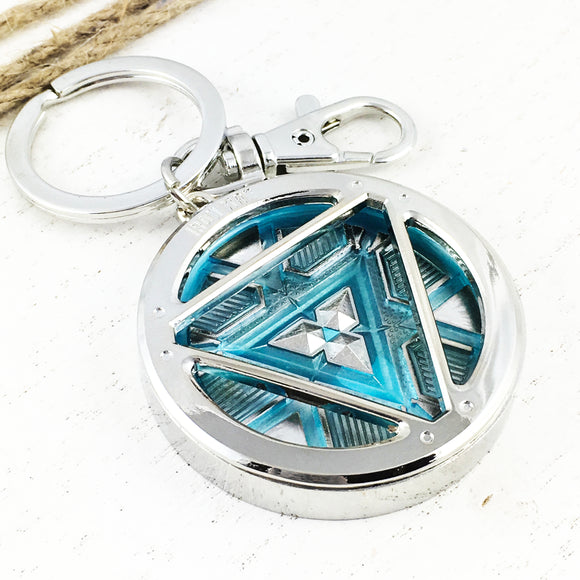Glow-in-the-Dark Keychain | Iron Man | Arc Reactor