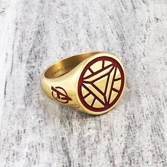 Signet Ring | Iron Man | Arc Reactor