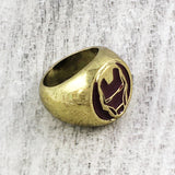 Signet Ring | Iron Man | Helmet