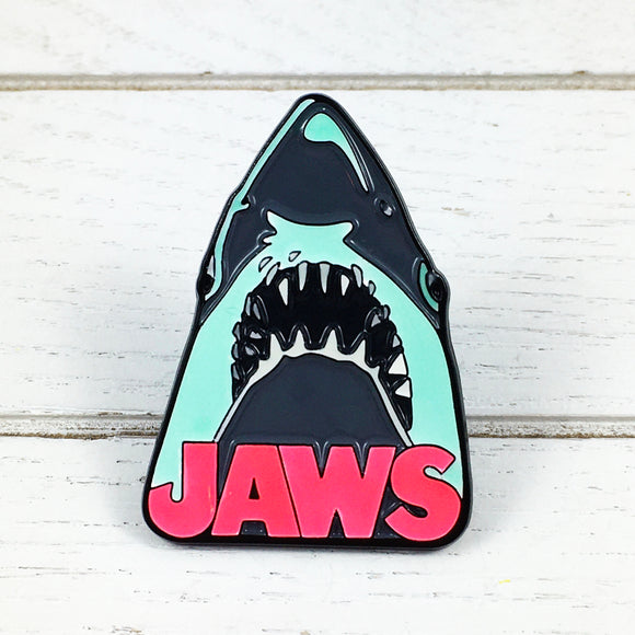 Glow-in-the-dark Pin | Jaws | Shark