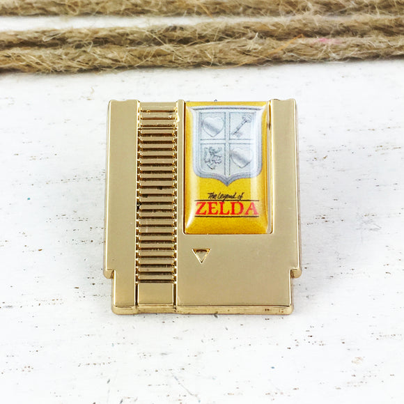 Metal Pin | Legend of Zelda | Cartridge