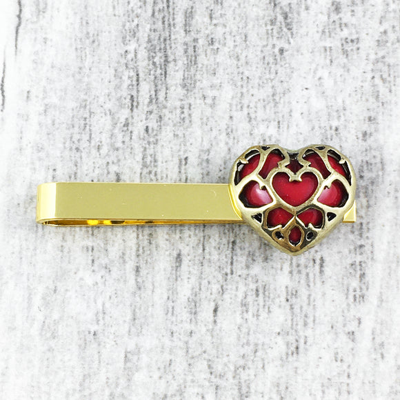 Tie Clip | Legend of Zelda | Heart Container