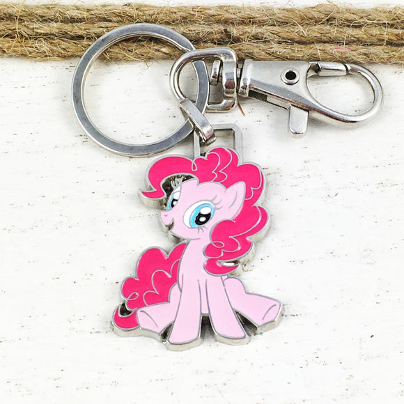 Enamel Keychain | My Little Pony | Pinkie Pie
