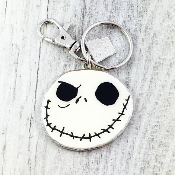 Enamel Keychain | Nightmare Before Christmas | Jack Skellington