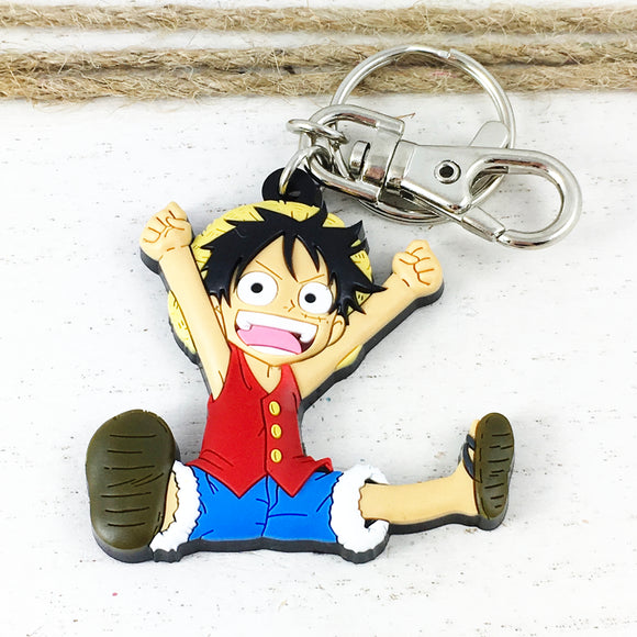 Soft Plastic Keychain | One Piece | Luffy