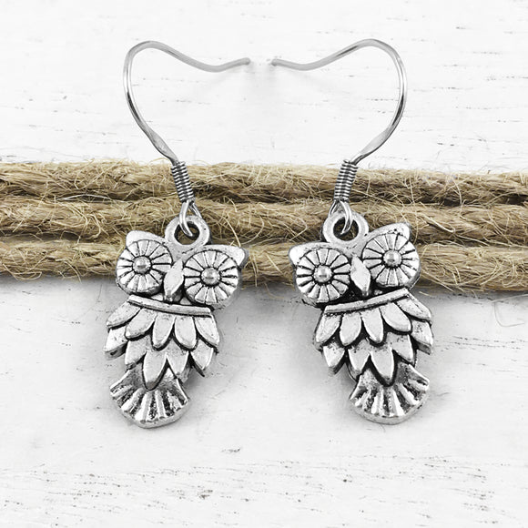 Earrings | Owls
