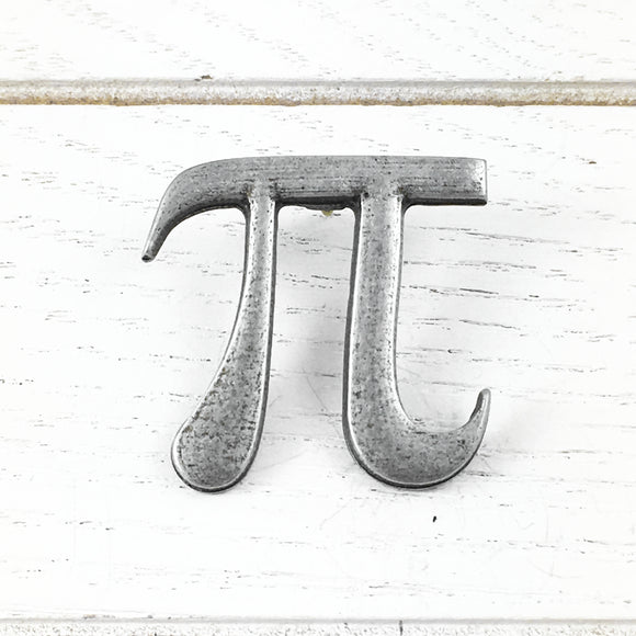 Metal Pin | Pi π