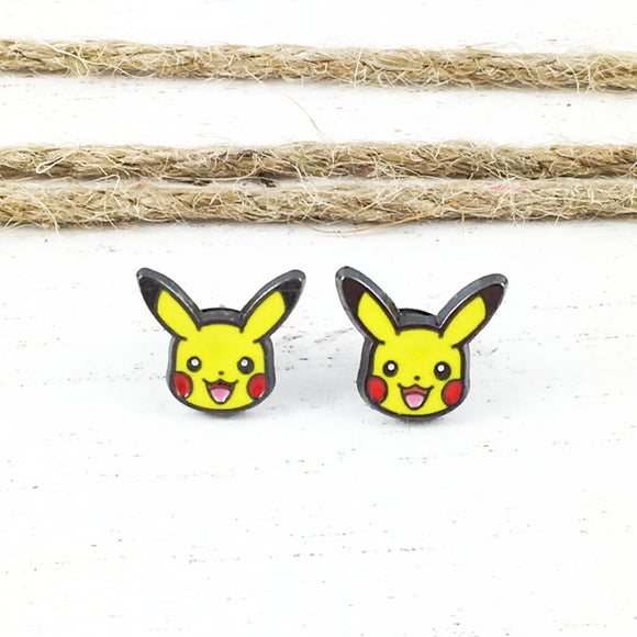 Stud Earrings | Pokémon | Pikachu