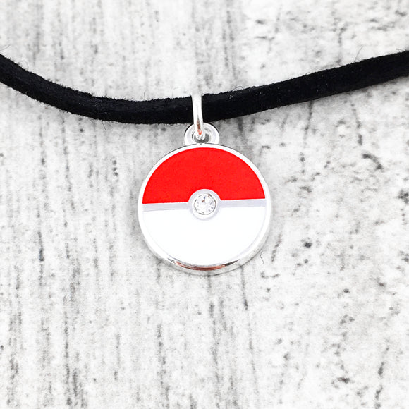 Collier ras-de-cou | Pokémon | Pokéball (mini)