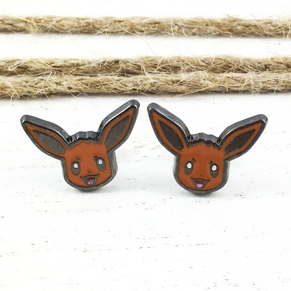Stud Earrings | Pokémon | Eevee