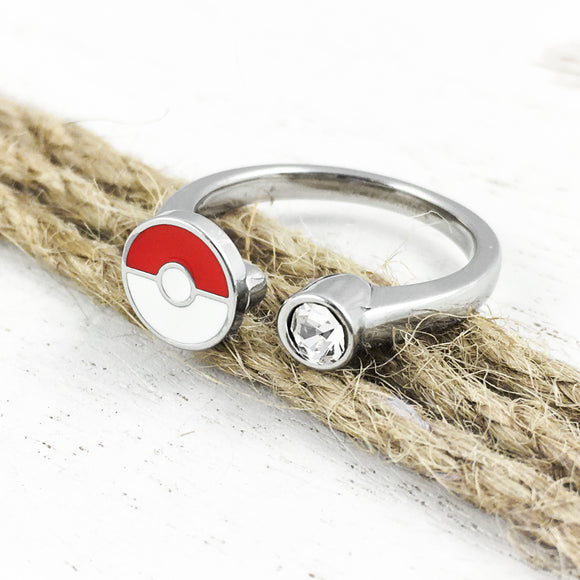 Ring | Pokemon | Pokeball with gem