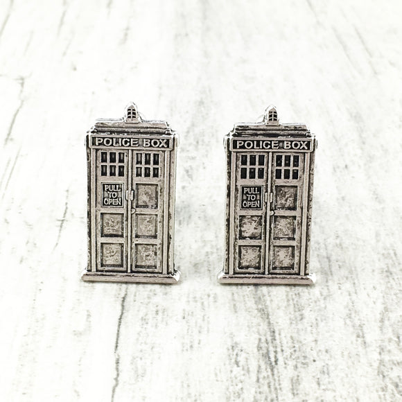 Cuff Links | Police Box