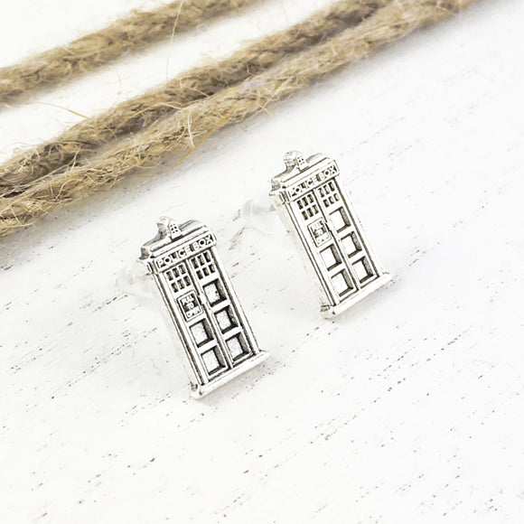 Stud Earrings | Police Box