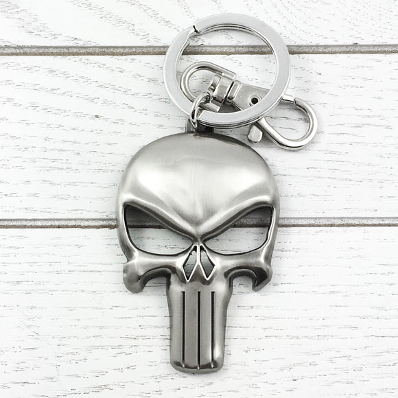 Pewter Keychain | The Punisher
